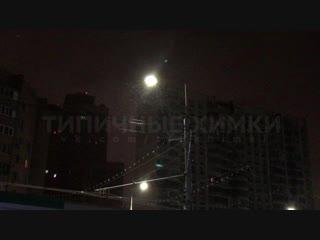 Первый снег в Химках 26.10.18