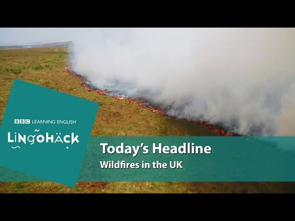 Today's words and phrases: smoulder, wildfires, smoky, plume, drifting