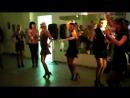23 февраля - танец девочек для мальчиков.
