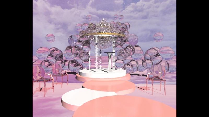 Оформление мероприятий, 3D дизайн-проект мероприятия. Изготовление декораций, монтаж декораций. @vladimir_kuntsovvladimir_kunts
