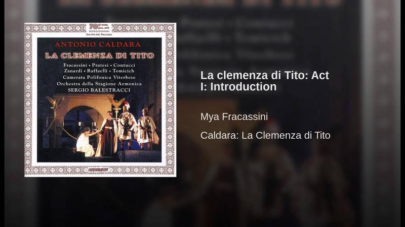 La clemenza di Tito Act I Introduction
