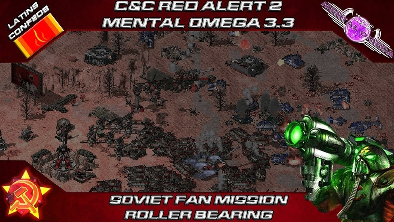 MENTAL OMEGA 3.3.4 - Soviet Fan Mission, ROLLER BEARING
