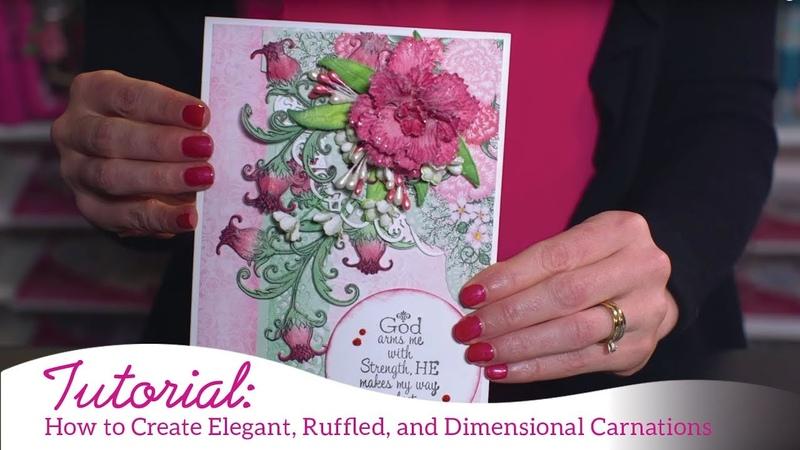 How to Create Elegant Ruffled Carnations