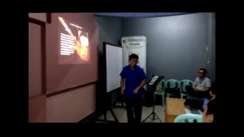 Deaf minister and sign language program