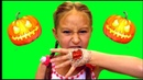 Halloween Makeup/ Хэллоуин макияж 2018 / Bloody hand/Cool tricks kids/Momo