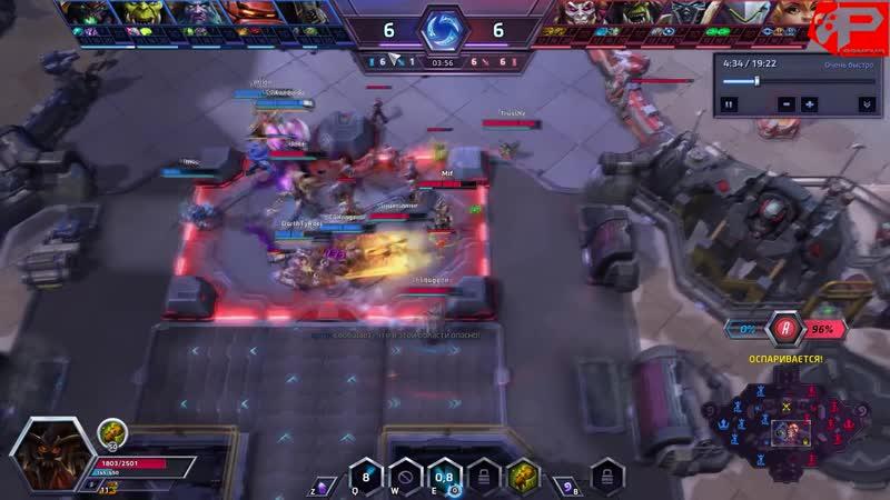 [Pancho Production] ШКОЛА НЕКСУСА - Преимущество над игроками | Heroes of the Storm