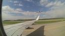Посадка Boeing 737 800 Nordstar в Домодедово