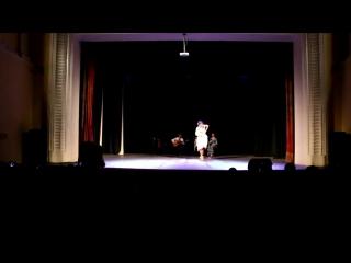 II Сибирский фестиваль фламенко iOle con Ole!. Барышева Дарья. Alegrias (21.4.2018)