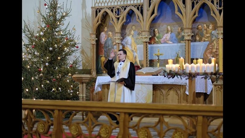 Сочельник Проповедь архиепископ ЕЛЦР Дитрих Брауэр