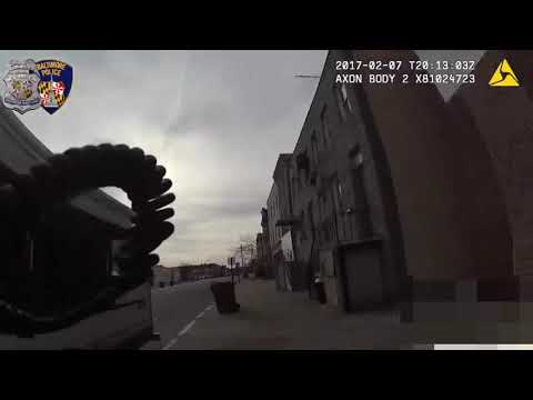 Police USA (18)Bodycam Shows Armed Man Fatally Shot By Baltimore Police Officer