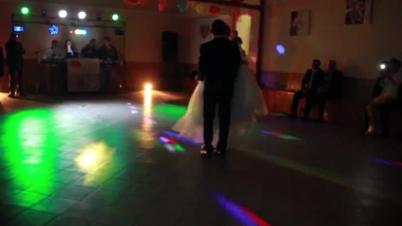 Перший весільний танець Петра та Маряни
