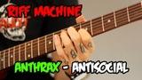 Anthrax - Antisocial (Backing & Tabs)   Riff Machine