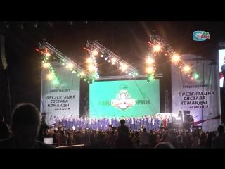 Закулисье «Татнефть Арены» на представлении обновлённого состава «Ак Барса»