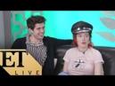 Bella Thorne Carter Jenkins Talk 'Famous In Love'   ET LIVE
