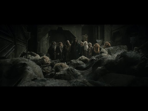 Гномы пытаются найти выход из Эребора. Кили и Тауриэль. Торин предлагает сразится с драконом. HD
