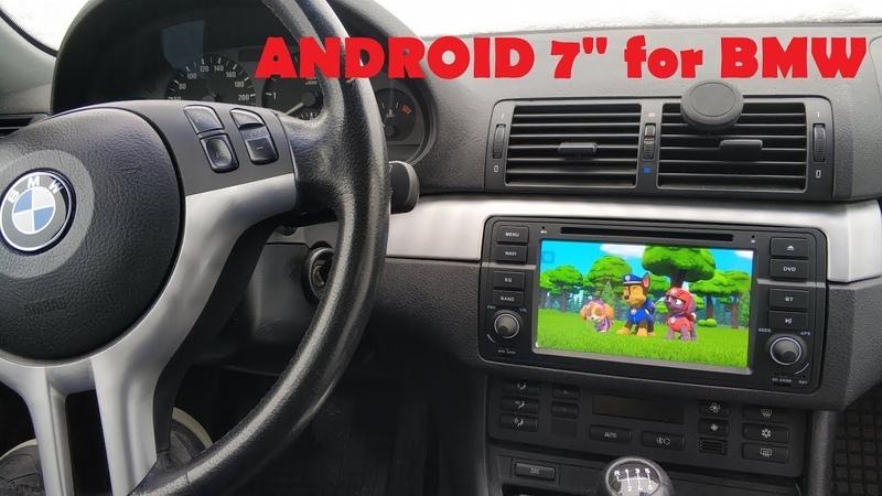 BMW Магнитола Е46 андроид Android DVD для BMW E46 Часть 1 Установка
