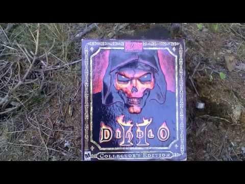 Diablo II Collector's Edition Unboxing (PC/Mac) ENGLISH