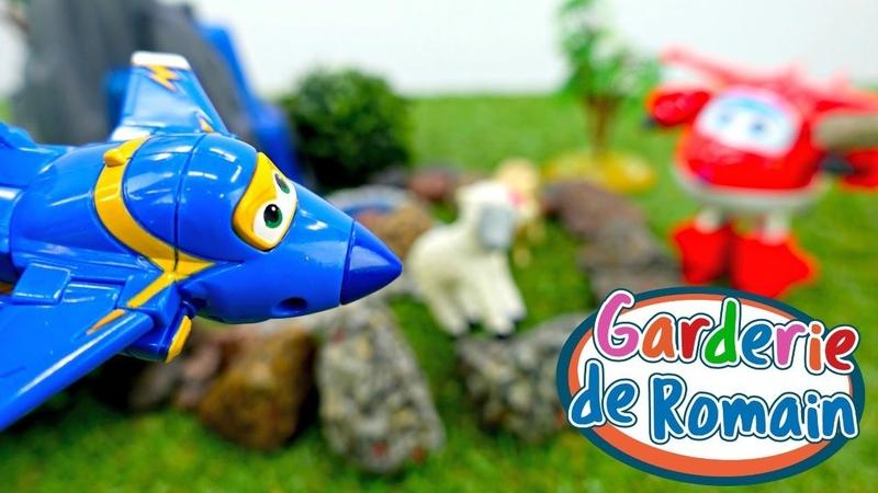 Vidéo en français pour enfants de la Garderie de Romain № 35: les Super Wings