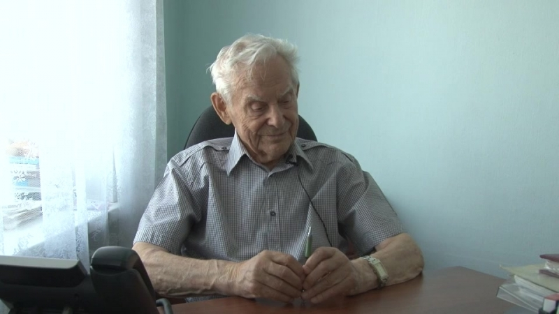 Последнее интервью с Фироновым Георгием Фёдоровичем 5 мая 2016 год Ухта
