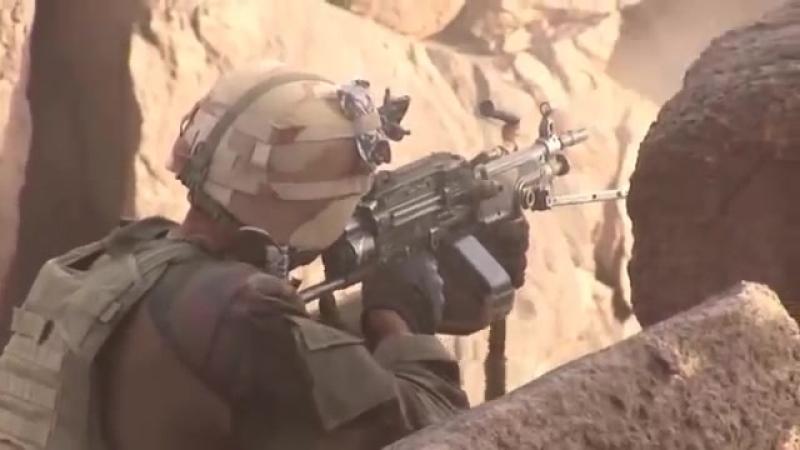 Французские солдаты в Мали.