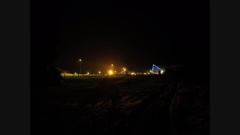 Вечерний парк...с.Ыб