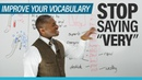 Improve your Vocabulary: Stop saying VERY!