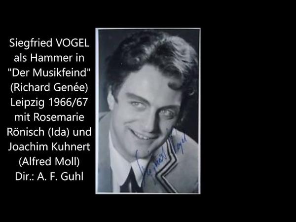 Genée: Der Musikfeind (S. Vogel, R. Rönisch, J. Kuhnert, A. F. Guhl)