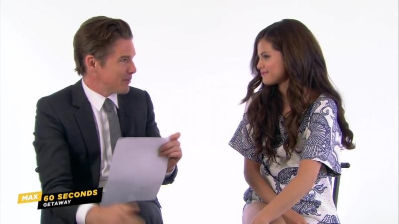MAX 60 Seconds with Getaway's Selena Gomez (Cinemax)