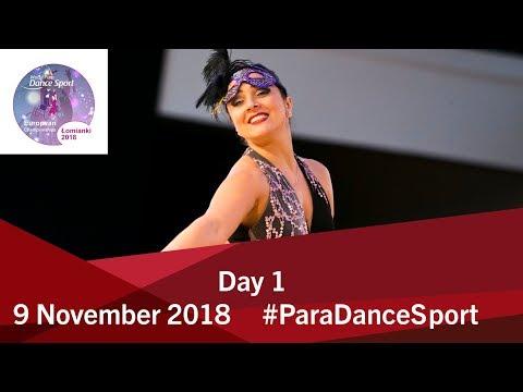 Day 1 World Para Dance Sport European Championships 2018 Lomianki