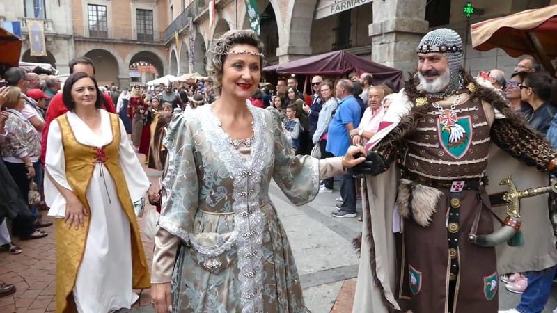 Desfile del Mercado Medieval de Ávila 2018