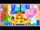 Гиппо Доктор для Кукол и Игрушек.Ветклиника для Лучших Друзей.Мультик Игра