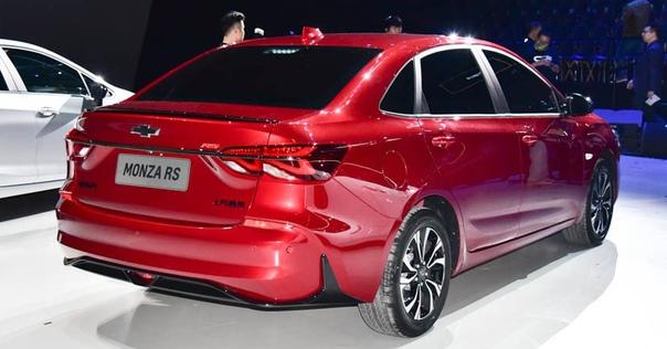 Новый седан Chevrolet Monza обещает небогатое оснащение