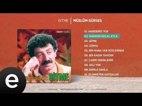 Hakkını Helal Eyle (Müslüm Gürses) Official Audio hakkınıhelaleyle müslümgürses - Esen Müzik