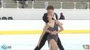 Sara HURTADO Kirill KHALIAVIN Lombardia trophy 2018 SD 3 place