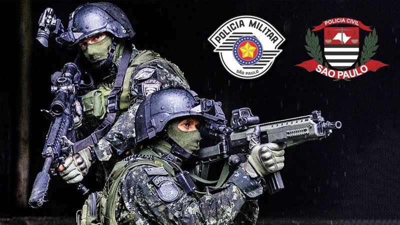 Forças Especiais Policiais SP - ROTA | GATE | GARRA | COE | GER | GOE
