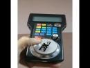 А вот и цифровой пульт управления координатным станком. Беспроводной. На магнитиках .. ЧПУ EMC2 linux linuxcnc cnc mill