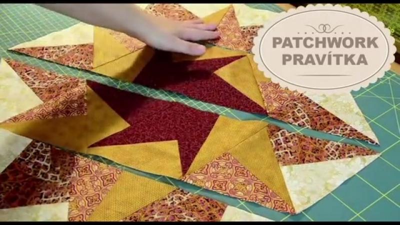Patchwork Triangle Rulers Siti z pruhu