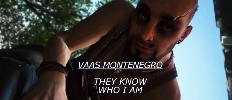 Vaas Montenegro | They Know Who I Am [GVM]