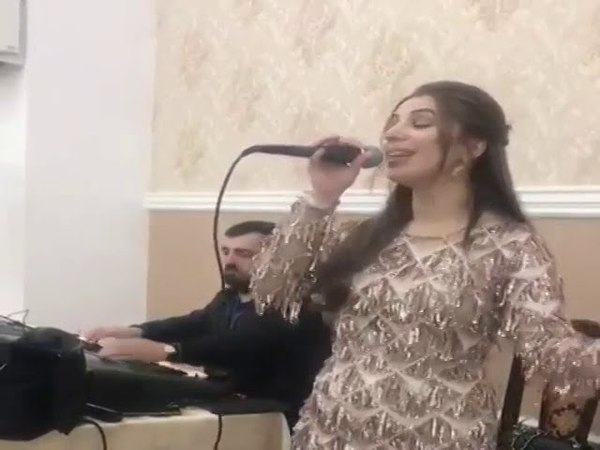 Даргинская на свадьбе Динара Магомедова