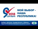 9 сентября - День выборов депутатов Государственного Собрания - Курултая Республики Башкортостан