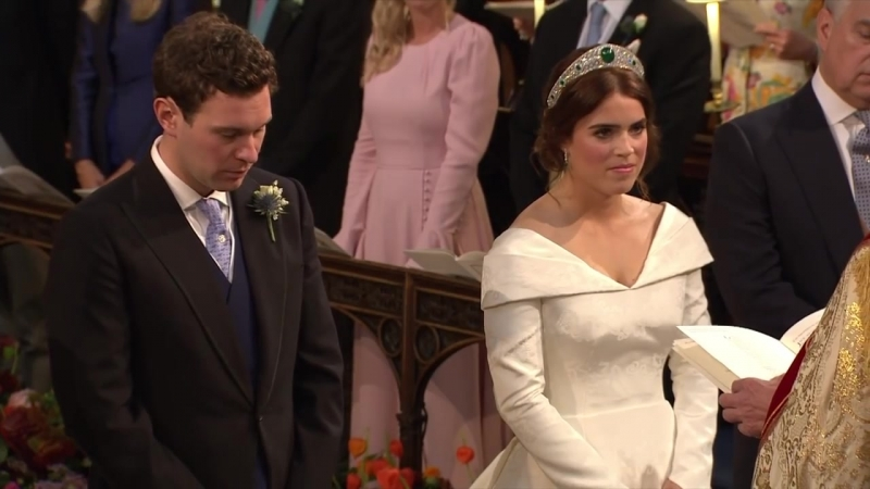 Princess Eugenie and Jack Brooksbank tie the knot at Windsor Castle