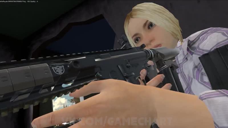 Блондинки взяли оружие в руки