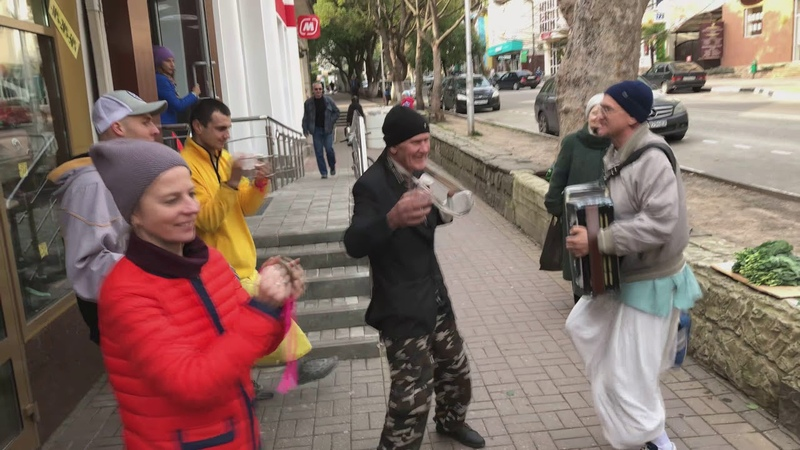 Ратишекхар дас - 2018.02.17, Лазаревская, Харинама, 4K