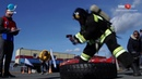 19.10.2018 На Сахалине впервые прошли соревнования по пожарно-спасательному многоборью