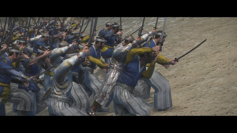 Battle of Toba–Fushimi 1868 (鳥羽・伏見の戦い) Total War Shogun 2 cinematic movie |Boshin War|