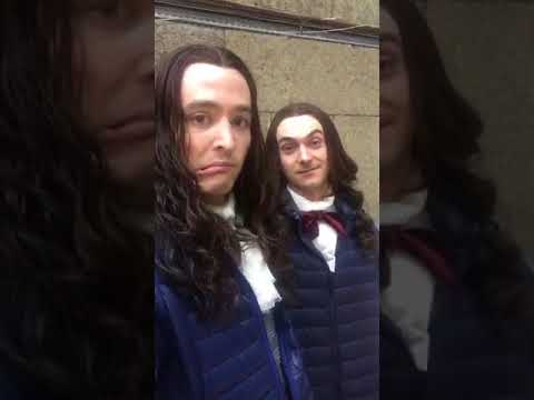 Season 3 photo shoot Versailles @vlavla's Periscope 07 10 2017