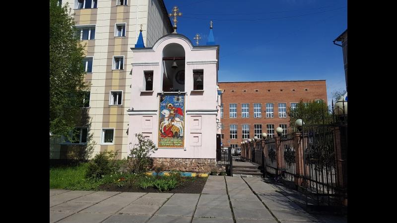 Протоиерей Евгений Суркин храм великомученика Георгия Победоносца г Новокузнецк 24 06 2018