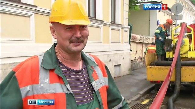 Вести-Москва • Не расслабляться: после трех дней летней жары в Москву пришла неделя дождей