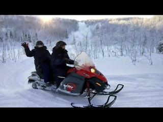 Сафари на снегоходах