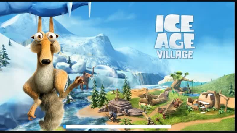 играю игру Ice Age Village ледниковый периот красивая игра